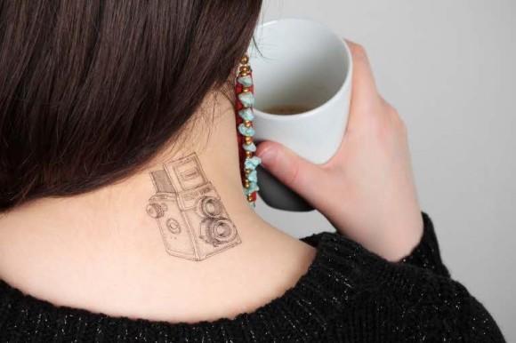 Tatuagem temporária lomográfica? É isso mesmo... - lomobr